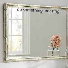 Amazon Com Do Something Amazing Vinyl Wall Decal Sticker Art 1 5 X 18 Inspirational Words Motivational Quotes Home Decor Wall Decals Home Kitchen