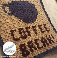 Ravelry: Coffee Break Wall Hanging pattern by Dragonfly Creations ...