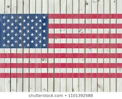 American Flag Fence Images Stock Photos Vectors Shutterstock