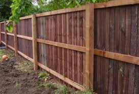 Feather Edge Fence Feathered Fencing London Winchmore Hill