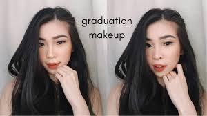 natural glam graduation makeup