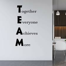Winston Porter Team Together Everyone Achieves More Office Quotes Wall Decal Reviews Wayfair