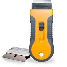 Car Sticker Remover Razor Blade Spatula Scraper Window Tint Tools Utility Knife For Window Glass Film Glue Removing 10pcs Replaceable Razor Blades Wish