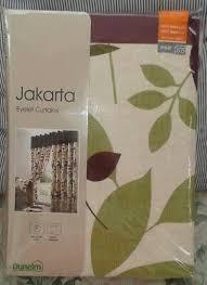 jakarta plum fl curtains bnip 66
