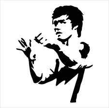 Bruce Lee Jeet Kun Do Die Cut Vinyl Decal Sticker Texas Die Cuts