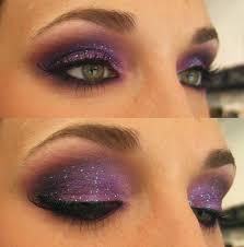 purple eye makeup for green eyes cat