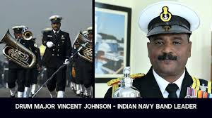 Meet Drum Major Vincent Johnson Leading Indian Navy Music Band In ...