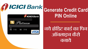 icici credit card pin
