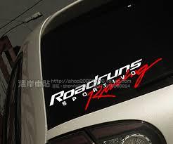 Modified Car Stickers Street Racing Style Rsr Roadruns Racing Reflective Car Stickers Car Shake Car Sticker Familycar Flag Sticker Aliexpress