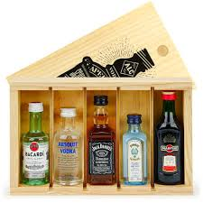 spirit mini bar gift crate 5