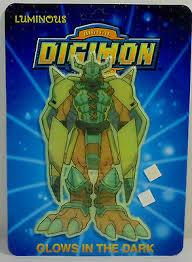 Digital Digimon Monsters Vtg 1999 Wargreymon Wall Sticker Glows In The Dark Mosc 5202976905036 Ebay