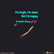 i m single i m alone but es