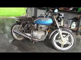 honda cb400 cafe racer build project 1978
