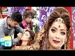 stani bridal hair style makeup