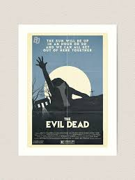 Evil Dead Vinyl Decal Window Sticker 4 Bruce Book Of The Dead Chainsaw Ushirika Coop