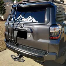 Toyota 4runner Rear Mountain Decal Go Gold Designs