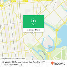 How to get to Dr Wesley McDonald Holder Ave, Brooklyn, NY 11234 in Brooklyn  by Bus or Subway | Moovit