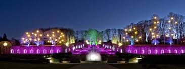 the light show at the alnwick