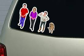 Design And Print Your Car Family Stickers By Jonathankantor