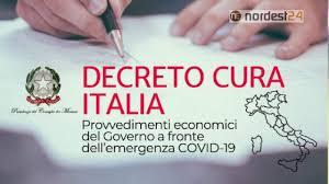 C'è il DPCM 17/3/2020, sostegno economico: testo e PDF del decreto ...