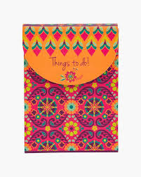 fandango pink purse notepad