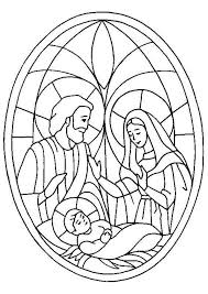 Maria Jozef En Jezus Kleurplaten Kerstmis Kleuren Kerst