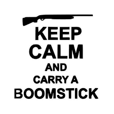Evil Dead Keep Calm And Ry A Boomstick Ash Evil Dead Yeti Decal