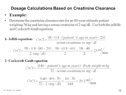 image result for creatinine clearance