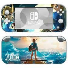 Nintendo Switch Lite Skin Decal Sticker Vinyl Legend Of Zelda Breath Of The Wild Ebay