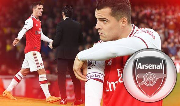 Image result for GRANIT XHAKA""