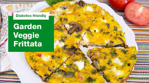 veggie frittata recipe for diabetics