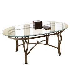 oval glass coffee table replacement