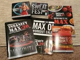 beachbody insanity max 30 workout dvds