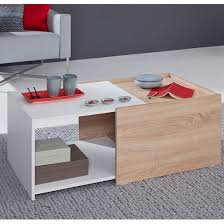 daria extendable wooden coffee table in