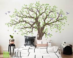 Large Tree Nature Vinyl Wall Tree Decal Nursery Wall Decals Etsy Nursery Wall Decals Tree Vinyl Wall Tree Tree Wall