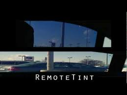 electric auto tinting glass