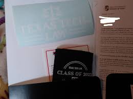 Texas Tech Sent A Car Decal And A Koozie Lawschooladmissions