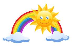Co vidí Sluníčko z oblohy I. - Dětské básničky