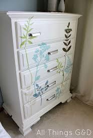Diy Decal Dresser Furniture Makeover Redo Furniture Diy Furniture