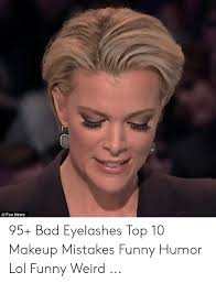 bad eyelashes top 10 makeup mistakes