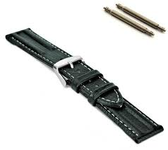 mens watch strap band vip grain 18mm