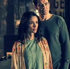 Abigail Spencer and Goran Visnjic of NBC (S2) Timeless ...