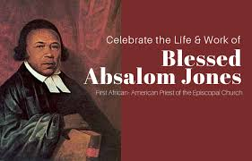 Celebrating the Life & Work of Blessed Absalom Jones - The Episcopal Church  in East Tennessee