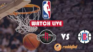 Houston Rockets @ LA Clippers NBA Live ...