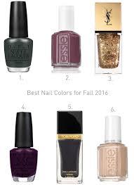 best fall nail polish colors take