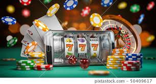 Online casino. Smartphone or mobile phone - Stock Illustration ...