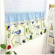Tab Top Cafe Curtain Window Valance Kids Curtain Nursery Child Etsy