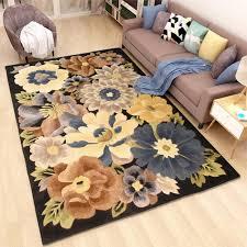 100 wool european modern carpets for