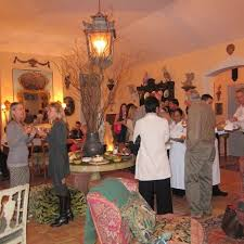 a magical evening at the home of penelope and adam bianchi... - Velvet &  Linen