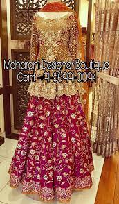 bridal lehenga delhi maharani